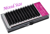 Mixed Size Alluring Silk Mink J Curl Eyelash Extension