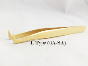 Alluring Eyelash Extension L Type Volume Tweezers (6a-sa)