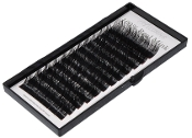 100% Real Mink Fur Eyelashes B Curl 15 x 8-15mm