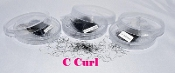 Combo Lot C Curl Polished Individual Loose Lashes