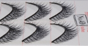 Individual Strip Lashes 10 pairs per box #4D