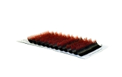 Alluring Two Tone Black / Red Colored Lashes