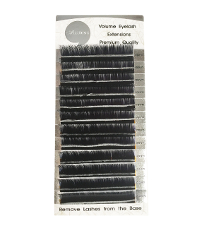 *Alluring .05mm Blended Volume Lashes D Curl (3 size in 1 row)