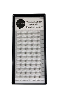 Alluring 4D Volume Lashes C .05mm Eyelash Extensions 4in1