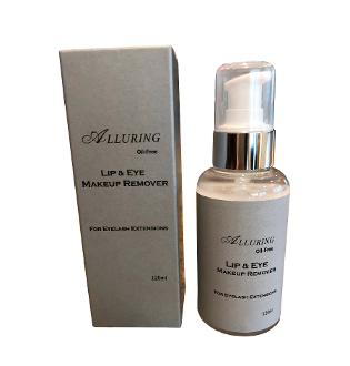 Alluring Eye & Lip Makeup Remover 120ml Bottle Eyelash Extension