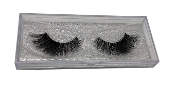 Real Hair Strip Eyelashes Winged / Cat-Eye Style F209