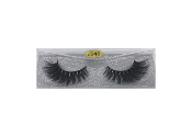 Real Hair Strip Eyelashes Winged / Cat-Eye Style J48