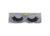 Real Hair Strip Eyelashes Winged / Cat-Eye Style J42