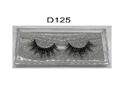 100% Siberian Real Mink Strip Lashes - D125