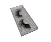 Real Hair Strip Eyelashes Winged / Cat-Eye Style F210